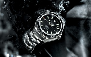 Picture watch, Omega, Seamaster, Planet Ocean, Big Size