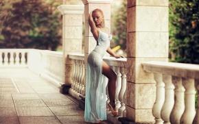 Picture figure, dress, shoes, sexy, Karen Abramyan
