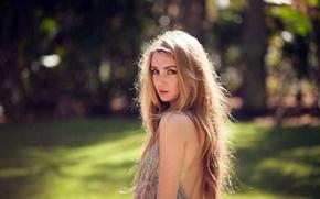 Picture girl, pose, Kristina Hoock