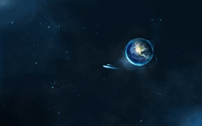 Picture Stars, Planet, Flight, Earth, Earth