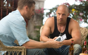 Picture Vin Diesel, Paul Walker, Dominic Toretto, Brian O'Conner, The Fast And Furious 6