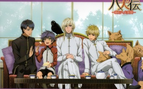 Picture sofa, Raven, art, set, murasame, the legend of the 8 dogs of the East, hakkenden, …