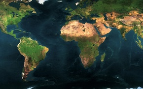 Picture continents, world map, geography, geographic