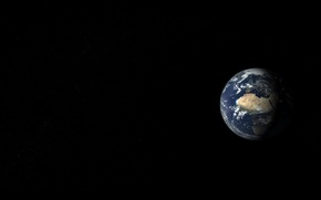 Picture space, landscape, earth, view, planet