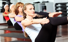 Picture pose, workout, pilates