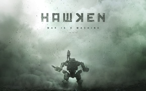 Picture people, robot, fur, War Is A Machine, Adhesive Games, Hawken