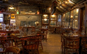 Wallpaper furniture, interior, restaurant