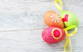 Picture eggs, Easter, Easter