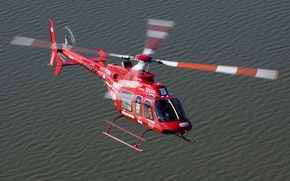 Picture Bell Helicopter Textron, light multi-purpose helicopter, Bell 407