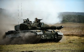 Wallpaper weapons, army, tank, Challenger 2