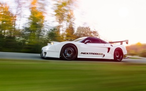 Picture car, tuning, in motion, tuning, honda nsx, hq Wallpapers