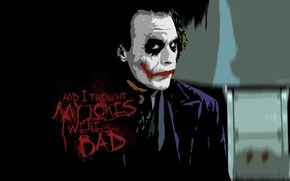 Wallpaper the dark knight, joker, Joker, Heath Ledger