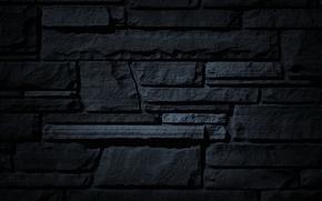 Picture stones, background, Wallpaper, black, texture, relief