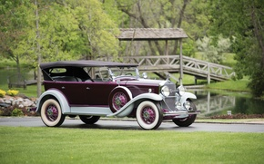 Picture the bridge, 1931, LaSalle, Touring by Fleetwood