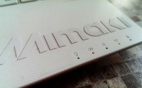 Picture logo, laptop, printer, mimaki