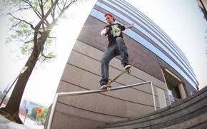 Wallpaper skate, Skateboarding, Sean Cullen, crooked grind