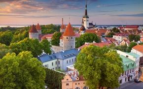 Picture home, Estonia, panorama, Tallinn