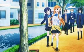 Picture Anime, Yui Suggests Kiriyama, Iori Nagase, Kokoro Connect, Himeko Inaba, Tait Yaegasi, Yoshifumi Aoki.