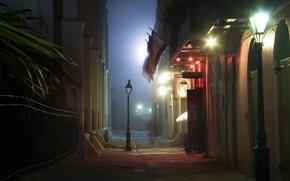 Picture street, Night, lantern