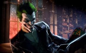 Wallpaper Joker, Joker, Warner Bros, Batman Arkham Origins