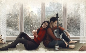 Picture Guitar, Art, Quantic Dream, Game, Farinhate