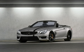 Picture Mercedes, convertible, 2012, Mercedes, AMG, Germany, Wheelsandmore, SL63, Convertible, Tuner, V-8, Seven-11