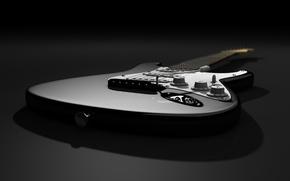 Picture shadow, Stratocaster, Fender, Gatara