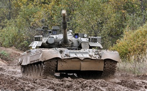 Wallpaper t-80, the armed forces of Russia, tank
