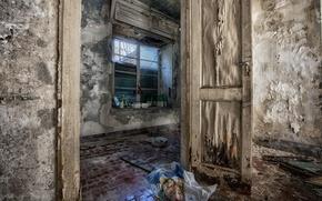Picture background, room, door