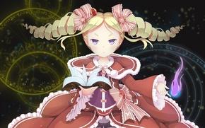 Picture anime, art, girl, Re: Zero kara hajime chip isek or Seikatsu