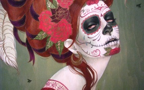 Picture The darkness, Bright, Death, Sylvia Ji, Sylvia JI, Day of the Dead