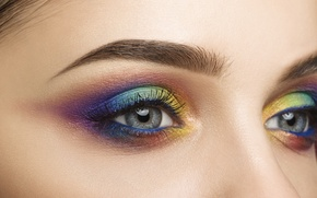 Picture colors, style, eyes, makeup