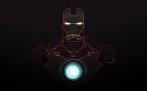 Picture minimalism, iron man, iron man