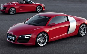 Picture road, Audi, coupe, convertible