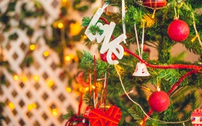 Picture balls, holiday, tree, new year, light, love, new year, merry christmas, holiday, alex levi