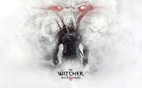 Picture Look, Sword, Warrior, Beard, Armor, The Witcher, The Witcher, Geralt, Scar, Medallion, CD Projekt RED, …