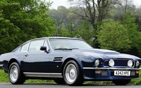 Picture Aston Martin, Vantage, Blue, Classic, Aston Martin, 1977, Vantazh
