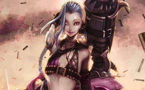Picture The game, lol, League Of Legends, Jinx