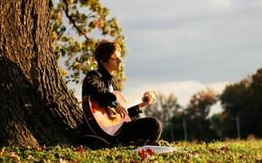 Picture music, mood, guitar, guy