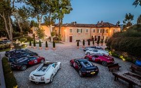 Wallpaper Bugatti, Grand Sport, Veyron, combo, 16.4, Bugatti, combo, willa, Veyron, Villa