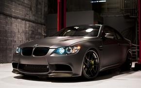 Picture black, BMW, BMW, Matt, Boxing, black, E92