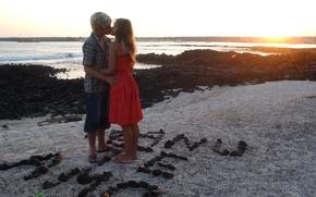 Wallpaper sea, kiss, rebel, Luisana, Lopilato, spirit, love