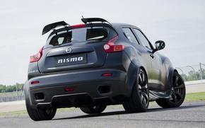 Picture Nissan, black, track, Juke-R, Nismo