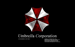 Picture the game, resident evil, umbrella