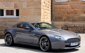 Picture machine, Aston Martin, Vantage, Aston Martin, the front, Cargraphic