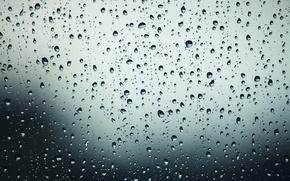 Wallpaper glass, water, drops, light