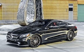 Picture Mercedes-Benz, Black, 2014, AMG, S-Class, black, Mercedes, S 550, AMG, C217