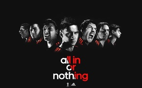 Picture Sport, Football, Adidas, Adidas, all in or nothing