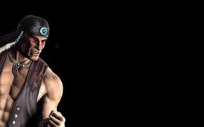 Picture Mortal Kombat 9, Mortal Kombat, fighting, Nightwolf, Night Wolf
