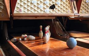 Wallpaper background, bowling, sport